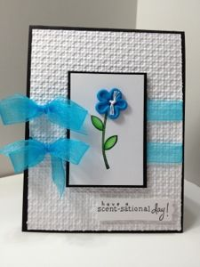 Cute card, love the blue and white