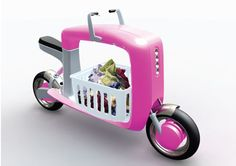 cargo scooter concept