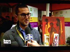 Sul Tg1 si parla dell' Oscar Green 2016 e del nostro progetto di unire insieme Coltura & Cultura con la collezione di bottiglie dipinte a mano da artisti internazionali !!! #Coldiretti #OscarGreen #Vino #Arte #Specogna #CristianSpecogna