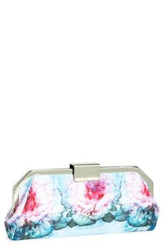 Ted Baker London 'Cubist Floral' Clutch available at #Nordstrom