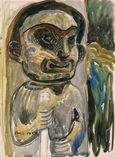 Terrible Totem By Koskimo By Emily Carr . Truly Art Offers Giclee Unframed Prints on Paper, Canvas Art, and Framed Art in all our Collections. Tom Thomson, Emily Carr, Grizzly Bear Habitat, Group Of Seven, Bad Art, Historical Images, Watercolor Sketch, Canadian Artists, Art Google
