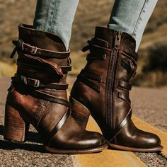 2aa6e58368467 8 Best ladies leather boots images