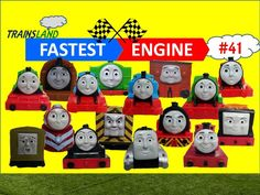 Thomas and Friends- The World's FASTEST ENGINE Competition #41