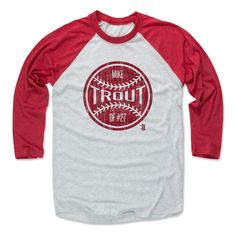 Mike Trout Ball R Los Angeles A MLBPA Officially Licensed Baseball T-Shirt Unisex S-3XL