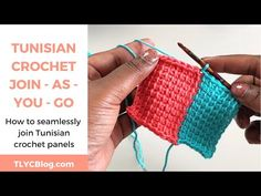 Expand your Tunisian crochet skills by learning to add panels as you go! This is a great skill to learn for creating beautiful blankets, like my Temperature Blanket! Crochet Shell Stitch, Bead Crochet, Crochet Hooks, Crochet Hairband, Crochet Bracelet, Joining Yarn Crochet, Learn To Crochet, Diy Crochet Halter Top, Braidless Crochet