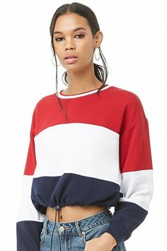 best sneakers af20c 196bb French Terry Colorblocked Pullover