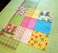 Disappearing Nine Patch Quilt Block TutorialThe Cottage Mama