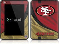 Skinit San Francisco 49ers Vinyl Skin for Amazon Kindle Fire HD 7 by Skinit. $19.99. IMPORTANT: Skinit skins, stickers, decals are NOT A CASE. Our skins are VINYL SKINS that allow you to personalize and protect your device with form-fitting skins. Our adhesive backing can be applied and removed with no residue, no mess and no fuss. Skinit skins are engineered specific to each device to take into account buttons, indicator lights, speakers, unique curvature and will n...