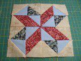 barbara fritchie star quilt block pattern
