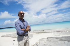It's official: Climate change is a threat to our national security. | New Republic Bbc News, Barack Obama, Midway Atoll, Global Warming Climate Change, Reserva Natural, Us Presidents, Underwater, America, Sept 1