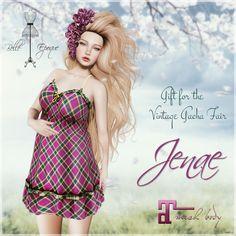 Jenae Dress 12th Vintage Gacha Fair Gift by Belle Epoque