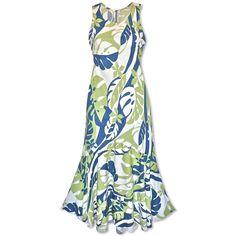 Jazz Ocean Lehua Hawaiian Dress