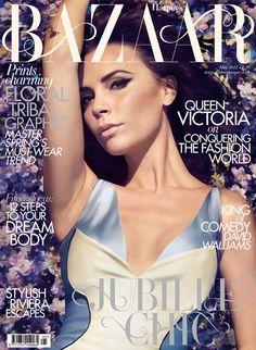 Victoria Beckham Covers Harper's Bazaar May 2012