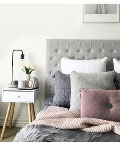 14 Trendy Bedroom Design and Decor Ideas for Your Next Makeover - The Trending House Scandi Bedroom, Wood Bedroom, Bedroom Green, Bedroom Decor, Bedroom Ideas, Green Bedding, Master Bedroom, Bedroom Bed, Bedroom Inspo
