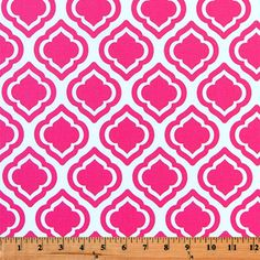 Quatrefoil Fabric made by Premier Prints Inc