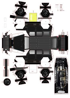 Jeep Paper car