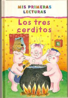 Daniela y Sergio. Nos gusta el cuento de los tres cerditos porque nos hace mucha gracia como corre el lobo cuando se quema.