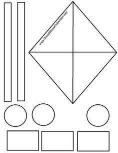 Kite Cutout Craft For Sunday School Kids James  Free