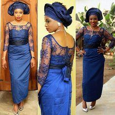 "Nigerian Wedding Presents ""Rise Of The Monotone Aso-ebi""- Check Out 60+ Latest Monotone Aso-ebi Styles & Classy Fabrics To Inspire You This 2015 | Nigerian Wedding"