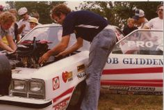 Bob Glidden working on Ford Fairmount Bob Glidden, Nhra Drag Racing, Funny Cars, Vintage Race Car, Popular Mechanics, Awesome Shoes, Drag Cars, Car Ford, Ford Motor Company