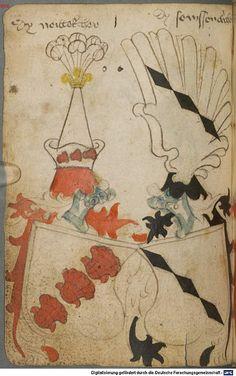 Ortenburger Wappenbuch Bayern, 1466 - 1473 Cod.icon. 308 u  Folio 80v