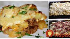 Zapečené nové zemiaky s mletým mäsom a smotanou 3v1: Len uložte na plech a máte nesmierne chutný obed alebo večeru!