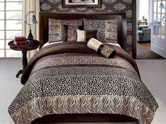 Punctual Winter Quilted Bedspread & Pillow Shams Set Home & Garden Landscape With Sunset Print