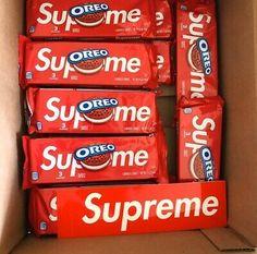 Ad(eBay Url) Supreme Oreo Cookies Oreo Cookies, Supreme, Food And Drink, Candy, Snacks, Chocolate, Drinks, Ulzzang, Foods