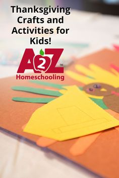 Get ready for Thanksgiving and fall fun with these crafts and activities for kids! Homeschool Blogs, Homeschooling, Fun Activities For Kids, Thanksgiving Crafts, Lesson Plans, Cool Kids, Fun Kids Activities, Lesson Planning, Homeschool