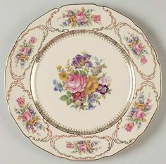 """""""Queen's Bouquet"""" china pattern from Rosenthal."""