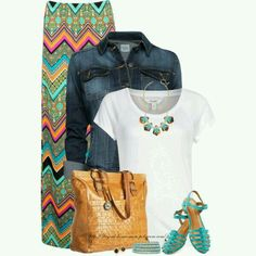 Franjas chic #Casual #Chic