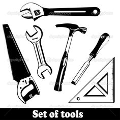 172 Best Tool Silhouettes Vectors Clipart Svg Templates Cutting