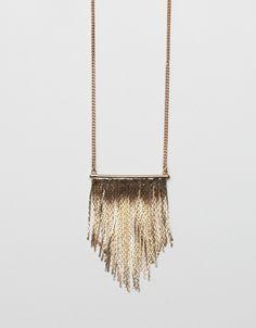 Waterfall Necklace ❥ 4U // hf