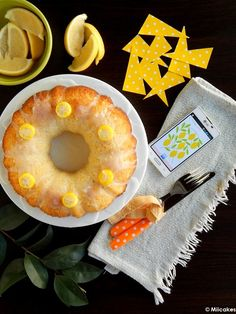Budín de ricota y limón : Miicakes Sweet Bread, Cake Cookies, Sweet Recipes, Pineapple, Fruit, Chef, Breads, Blog, Chocolate Desserts