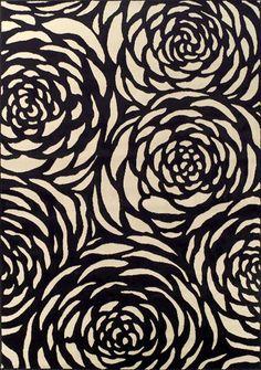 Mid century modern rug