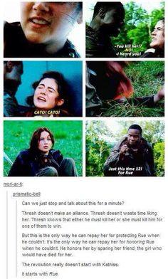 The Hunger Games - Thresh
