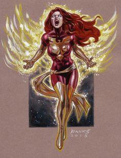 Jean Grey: Dark Phoenix ~ Artist: Darryl Banks