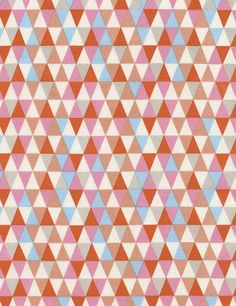 Timeless Treasures Triangle Geo Candy  by ThisOldFabricStore