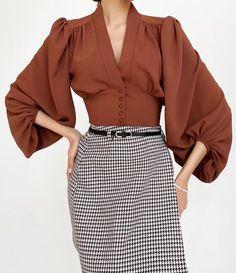 Muslim Women Fashion, Womens Fashion, Satin Midi Dress, Daily Dress, Sleeveless Crop Top, Blouse Vintage, Women's Fashion Dresses, Chic Outfits, Button Shirts