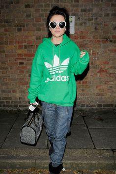 Cher Lloyd.  Comfy looking.