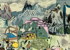 Mari Kanstad Johnsen detail - Board Game for Nasjonalgalleriet - marikajo.com