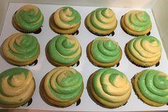 Green Bay strawberry lemonade cupcakes