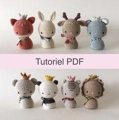 Crochet Patterns Amigurumi, Amigurumi Doll, Crochet Dolls, Crochet Stitches, Crochet Baby, Knit Crochet, Crochet Animals, Stuffed Toys Patterns, Yarn Crafts