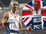 'I don't have a special diet. But I eat lots of protein after running. And I fuel up on pasta,' said Mo Farah