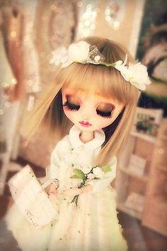 "Pullip Blythe Groove OOAK Custom ""Honey"" by seraphicdolls Tan Doll Leekeworld"