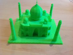 #3Dprinting #3Dmodeling #TajMahal model made in #Morphi, quick print on #ultimaker