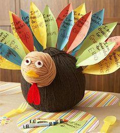 thankful turkey.
