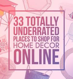32 Places To Shop For Home Decor Online That Youu0027ll Wish You Knew About  Sooner