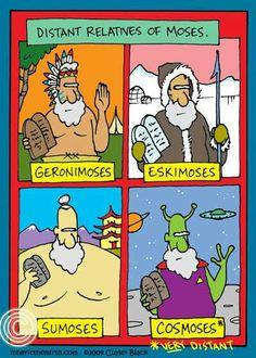 Descendants of Moses