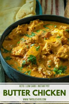 Restaurant-quality butter chicken in under 30 minutes at home! Super easy yet authentic Keto Indian Butter Chicken. An easy Instant Pot Keto Recipe that's family-friendly and ready in 30 minutes. Instant Pot Pressure Cooker, Pressure Cooker Recipes, Slow Cooker, Low Carb Chicken Recipes, Cooking Recipes, Keto Chicken, Chicken Curry, Cooking Tips, Indian Butter Chicken